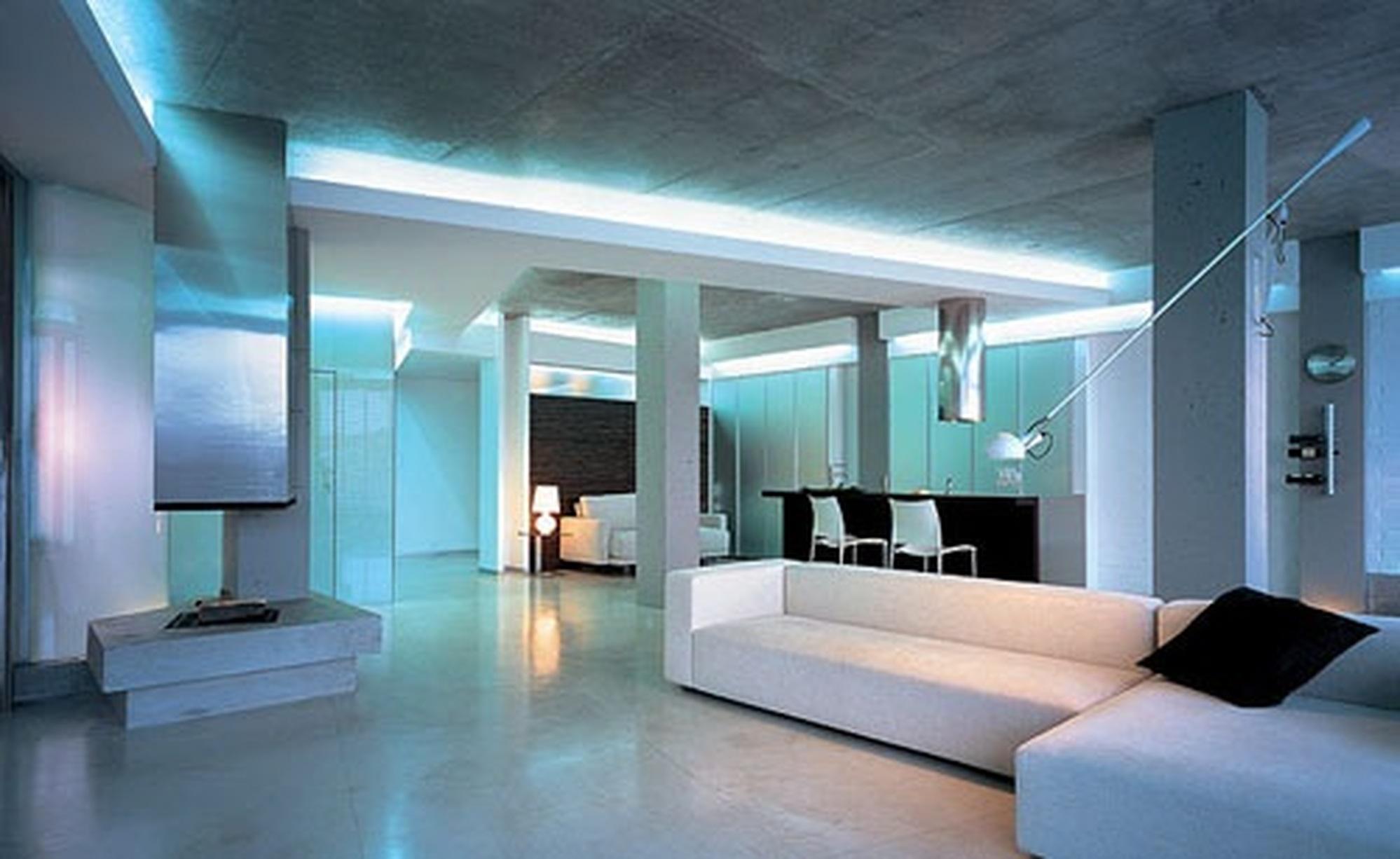 Дизайн интерьера в стиле хай тек дизайн